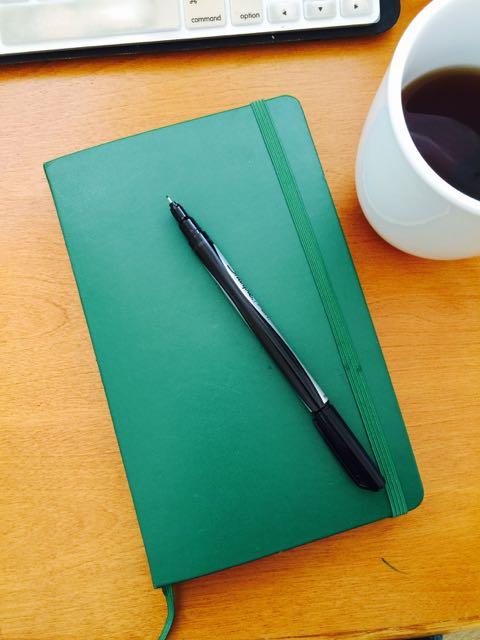 Darien Gee Moleskine Journal Writing Prompts ♥ http://www.dariengee.com